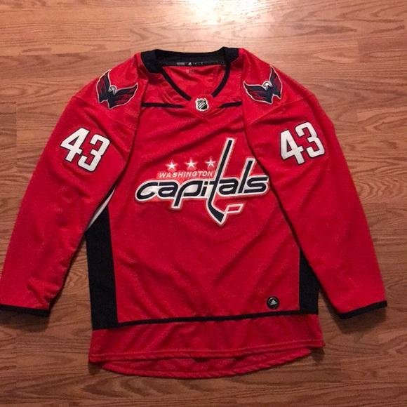 best service d2c68 46666 Washington Capitals Tom Wilson #43 Jersey NHL